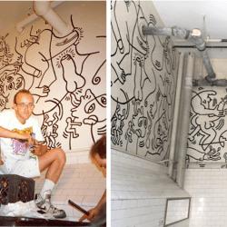 酷新聞:經典藝術家 大膽創作廁所 同志色情壁畫