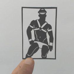 酷影像:傳統剪紙藝術新詮釋  釋放男男肉體情慾