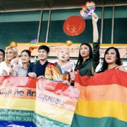 酷新聞:泰國同志伴侶爭取同婚合法 網友支持