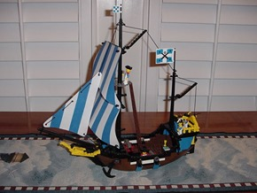 LegoBlueSails