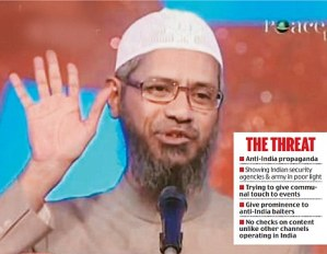 Zakir Naik's Peace TV Banned in India