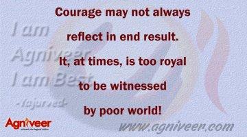 Courage Agniveer