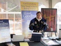 Gail Rubin at Frozen Dead Guy Days