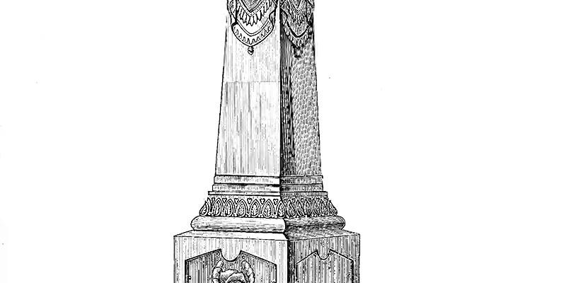 White bronze monument167