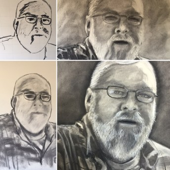 Drawing of Co-workers Father