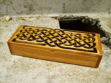 Celtic Knot Box Pyrography