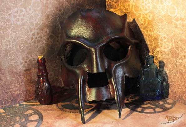 Leather Demon Mask