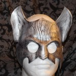 Silver Cat Mask
