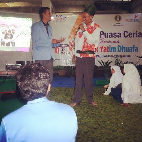 Inspirasi Dongeng Anak Islami dan Buka Puasa Ramadhan di Wonosalam