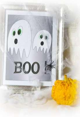 free halloween printables - cute kids characters