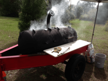Smoker in Action