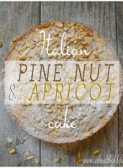 Italian Pine Nut and Apricot Cake 2 copy