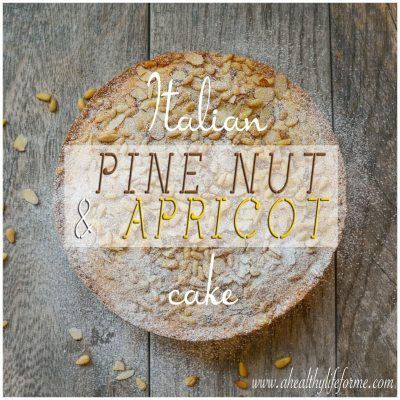 Italian Pine Nut and Apricot Cake