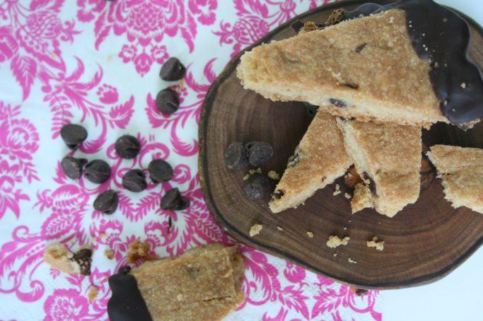Double Chocolate Shortbread Cookie Recipe | ahealthylifeforme.com