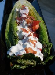 Grilled Romaine and Blue Cheese Salad@ ahealthylifeforme.com