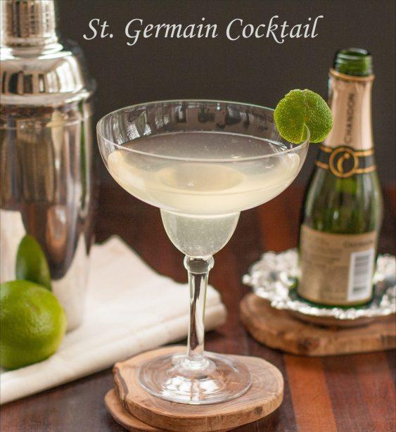 St. Germain Cocktail Margarita | Margarita Day Cocktail Round Up