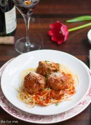 How to Make Italian Meatballs | ahealthylifeforme.com