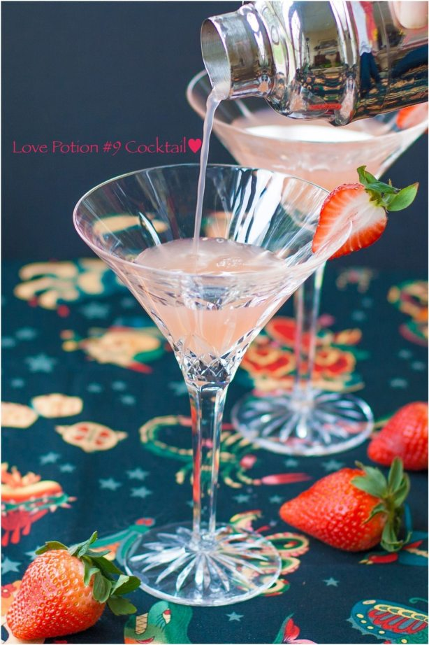 Love Potion #9 Cocktail Recipe