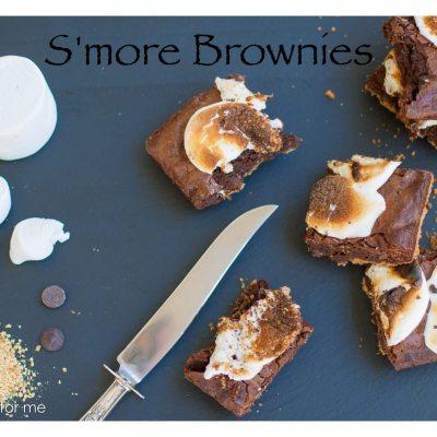 S'more Brownie