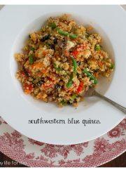 Southwestern Blue Quinoa 4