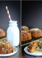 Gluten Free and Paleo Fig Cake with Coconut Vanilla Glaze | ahealthylifeforme.com
