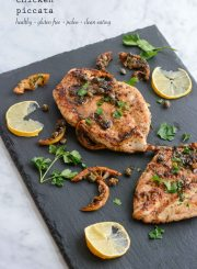 Chicken Piccata Recipe is Gluten Free Grain Free Soy Free and Paleo | ahealthylifeforme.com