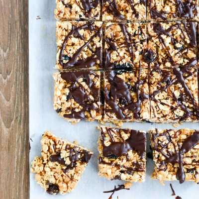 Healthy Rice Crispy Treats