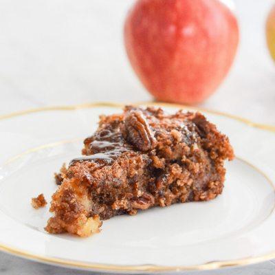 Gluten Free Apple Pecan Cake