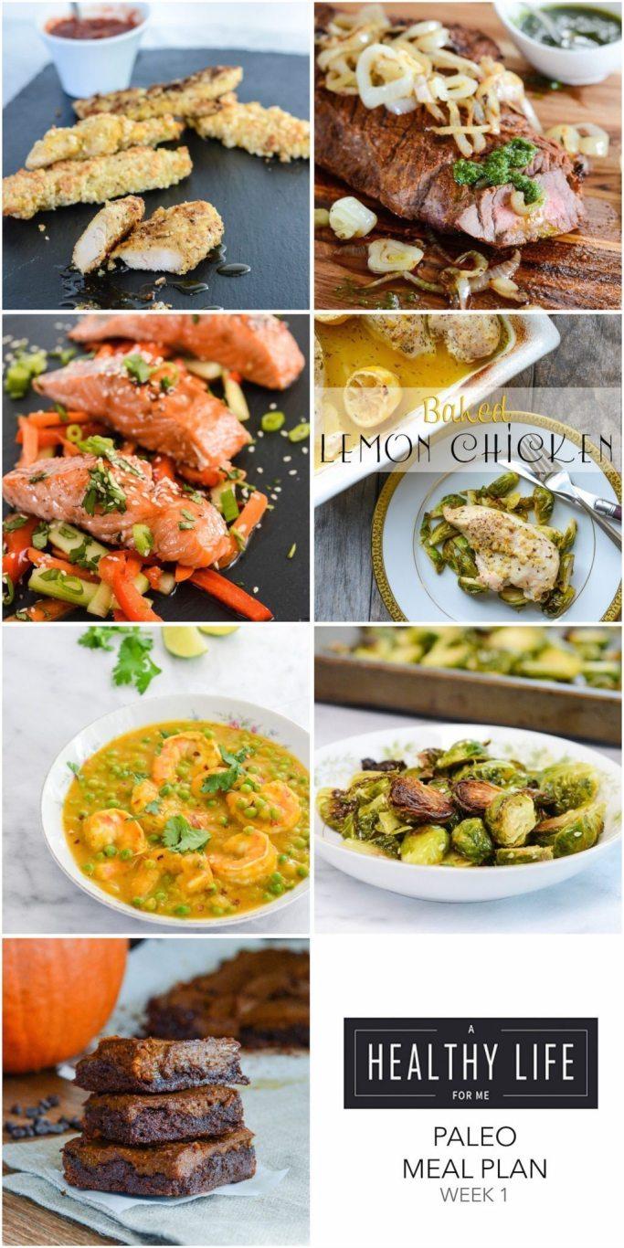 meal plan week 1  paleo