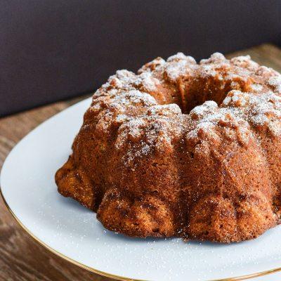 Pumpkin and Ginger Pound Cake {gluten free}