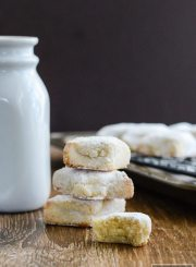Ricciarelli cookies melt in your mouth tender almond flavored cookies gluten free recipe | ahealthylifeforme.com