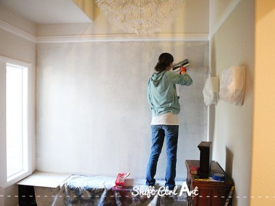 How to prep a textured wall for wallpaper