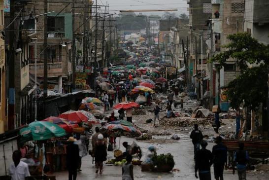 Así esperaron a Matthew en Haití
