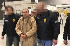 """""""El Chapo"""" Guzmán llega a Nueva York tras ser extraditado por México"""