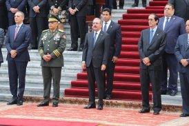 Danilo Medina rinde tributo a la Bandera Nacional
