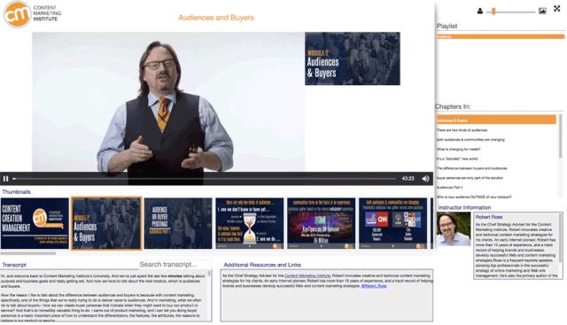Content Marketing University