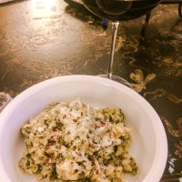 Basil Walnut Pesto with Gluten Free Pasta - LOW FODMAP