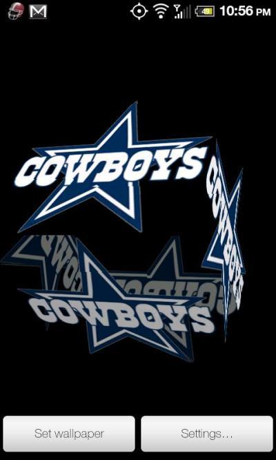 Cowboys Live Wallpaper PRO Free Download - dankei.cowboyslwpro