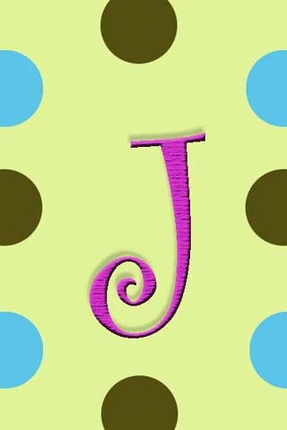 Monogram J Live Wallpaper Free Download - J.Gilbo