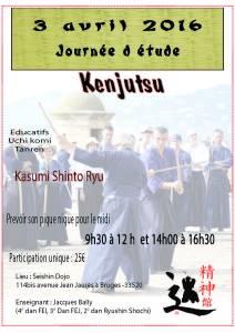 Kenjustu (3 avril 2016)