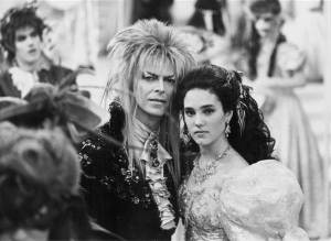 David Bowie and J. C. in Labyrinth Stanley Bielecki Movie Collection / Getty Images