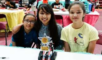 AIJMS Pirate Students compete in Lego Robotics Tournament