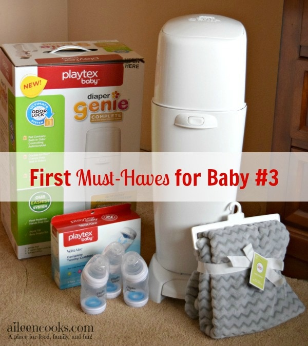 First Must-Haves for Baby #3