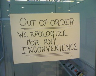 inconvenience not tragedy
