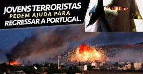 Jovens Terroristas Querem Ajuda para Voltar Para Portugal