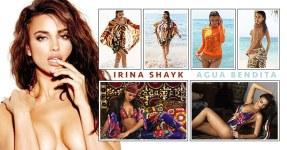 Irina Shayk em Bikini para a Agua Bendita