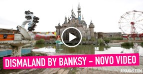 DISMALAND by BANKSY – Novo Video
