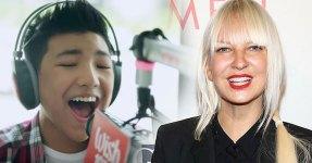 """Rapaz de 14 anos Canta """"Chandelier"""" Melhor do que Sia ?"""