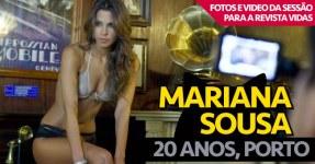 Mariana Sousa (20 Anos, Porto) na Revista Vidas