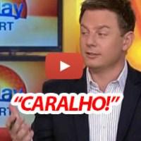 Australianos fazem-se ignorantes para dizer CARALHO na TV